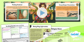 PlanIt - History UKS2 - The Shang Dynasty Lesson 3: Gods and Kings Lesson Pack - Shang, ancient, civilisation, oracle bones, priest, religion, ancestor, worship