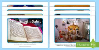 Sikh Artefacts Photo Pack - Sikhism, religion, special objects, Guru Granth Sahib, 5 Ks