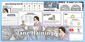 Scottish Significant Individuals Jane Haining Resource Pack - Scottish significant individual, Christian, missionary, Holocaust, Jewish, Auschwitz