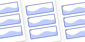 Sapphire Themed Editable Drawer-Peg-Name Labels (Colourful) - Themed Classroom Label Templates, Resource Labels, Name Labels, Editable Labels, Drawer Labels, Coat Peg Labels, Peg Label, KS1 Labels, Foundation Labels, Foundation Stage Labels, Teaching
