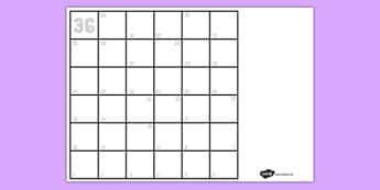 Blank Board Game and Instructions Template - blank, board game, instructions, template