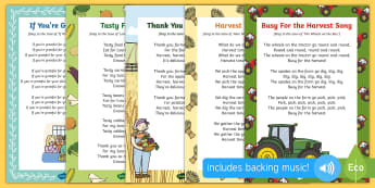 Harvest Songs and Rhymes Resource Pack
