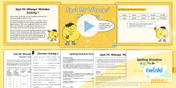 PlanIt Spelling Year 5 Term 3A W7: Assess & Review Spelling Pack - PlanIt, Spellings, Year 5, Y5, Term 3A, W7, assess, review, assessment, cloze passage, dictation, sp