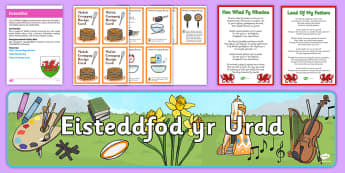 Eisteddfod 2017 Activity Pack Cymraeg - Festival, ideas, support, activities, cultural, Wales, Intergenerational, 4th Aug, 4th-12th