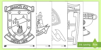 GAA'S Sam Maguire Colouring Pages - cluiche ceannais na heireann, ROI, GAA, sam maguire, colouring pages, mayo, dublin, colouring, final 2017