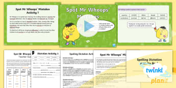 PlanIt Spelling Year 5 Term 3B W7: Assess and  Review Spelling Pack - Spellings Year 5, PlanIt, Y5, assessment, assess, review, spelling activities, dictation, cloze pass