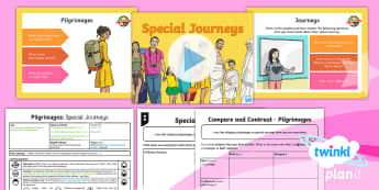 PlanIt - RE Year 4 - Pilgrimages Lesson 6: Special Journeys Lesson Pack - Journey, special, ordinary, pilgrimage, pilgrims, RE, religion, religious, education, KS2, planning,