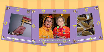 Purim Display Photo PowerPoint - purim, religion, hinduism, photo