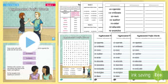 Year 6 Term 1A Week 5 Spelling Pack - Spelling Lists, Word Lists, Autumn Term, List Pack, SPaG