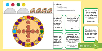 Perfect Pizzas Board Game