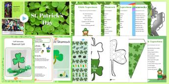 KS1 St. Patrick's Day Lesson Pack - KS1 St Patrick's Day, St Patrick's Day, Saint Patrick, Saint Patrick's Day, party, lesson plans,