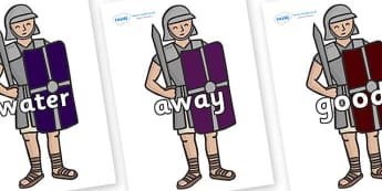 Next 200 Common Words on Roman Soldiers - Next 200 Common Words on  - DfES Letters and Sounds, Letters and Sounds, Letters and sounds words, Common words, 200 common words