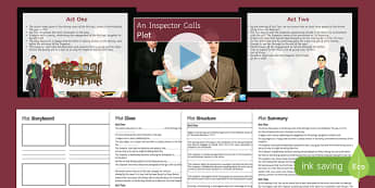 An Inspector Calls Plot Lesson Pack