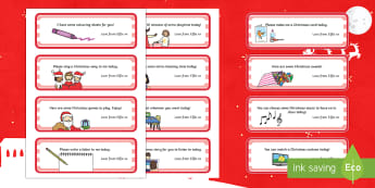Christmas Elf Class Rewards Editable Notes - elf on the shelf, elf, Christmas elf, Christmas