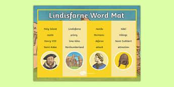 Lindisfarne Word Mat