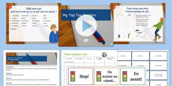 My Top 10 Starters Teaching Ideas French - learning activities, variety, useful, planning, good start,French, starter activities, French starte