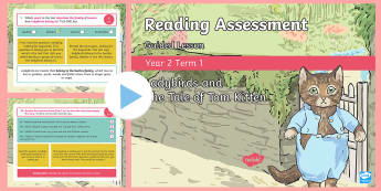 Year 2 Term 1 Paper 1 Reading Assessment Guided Lesson PowerPoint - Year 2, Y2, reading, SATS, SAT, booklet, assessment, assess, KS1, fiction, non-fiction, review, pape