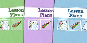A4 Lesson Plans Divider Covers-Lesson plans, divider covers, A4 divider covers, A4, covers, dividers, themed divider covers, plans for lessons
