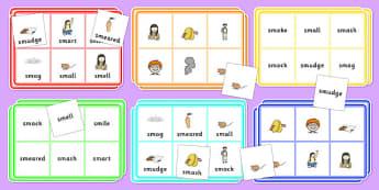 SM Bingo - sm sound, bingo, game, activity, sound, sm, sen, bingo game