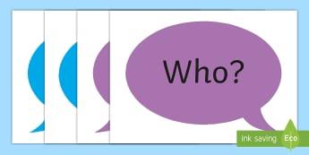 Doric Question Words A4 Display Poster - 1+2 languages, Scots, Scotland, Aberdeen, Scottish,Scottish