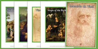 Leonardo da Vinci Display Photos