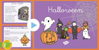 Presentación: Todo sobre Halloween - halloween, shamhna, holloween, pumkin, pumkins, hallloween, halloweem, powerpoint, tradiciones, jueg