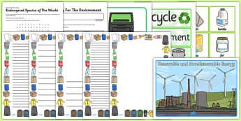 Top 10 Earth Day Resource Pack - top ten, top 10, earth day, resource pack, resource, pack