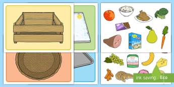 Visual Food Group Sorting Activity Mat - Food Group Sorting Activity - food, food groups, matching cards, sorting cards, cards, flashcards, g