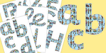 Me Myself and I Themed Display Letters and Numbers Pack - display, banner, PSHE, KS1, KS2, words