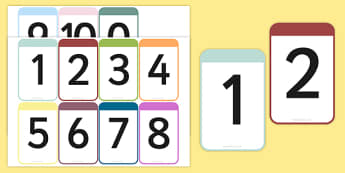 Number Cards 0-10 - Free Download