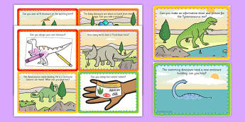 Challenge Cards Dinosaur Park - challenge, cards, dinosaur, park