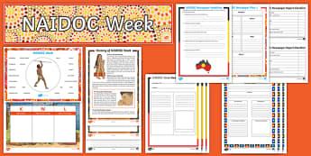 NAIDOC Week Newspaper Writing  Activity Pack  - Australia NAIDOC Week 2nd July,Australia