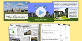 Stonehenge Iron Age Lesson Teaching Pack - the iron age, history