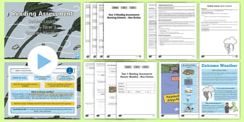 Year 4 Term 3 Non-Fiction Reading Assessment Guided Lesson Teaching Pack - Year 3, Year 4 & Year 5 Reading Assessment Guided Lesson PowerPoints, KS2, reading, read, assessment