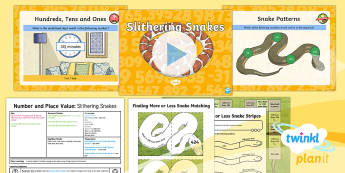PlanIt Y3 Number and Place Value Lesson Pack Finding More or Less (2) - Number and Place Value, counting on, problem solving, maths mastery, year 3, fun maths, hundreds, te