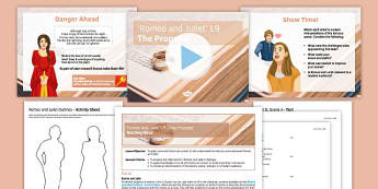 Romeo and Juliet Lesson Pack 9: The Proposal - proposal, Romeo and Juliet, balcony scene, foreshadowing, social and historical context, Shakespeare