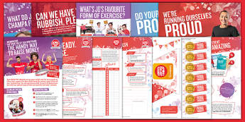 Sport Relief 2016: Fundraising Pack (Primary) - sport relief 2016, fundraising