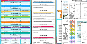 EYFS Bumper Planning Pack to Support Teaching on The Rainbow Fish