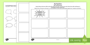 Father's Day Superhero Comic Strip Storyboard Template English/Polish - Australia Father's Day, fathers, superhero, dad, comics, comic strips, comic storyboard, storyboard