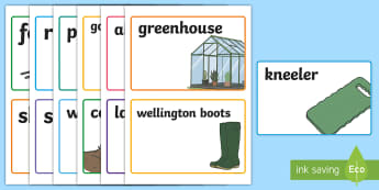 Outdoor Learning Role Play Garden Centre Display Labels - CfE Outdoor Learning, nature, forest, woodland, playground, outdoor classroom day, empty classroom d