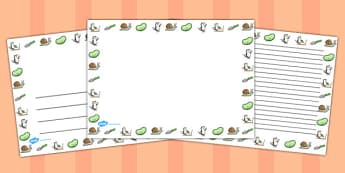 Landscape Page Borders to Support Teaching on Jasper's Beanstalk - jasper, page borders