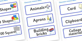 Raindrop Themed Editable Classroom Resource Labels - Themed Label template, Resource Label, Name Labels, Editable Labels, Drawer Labels, KS1 Labels, Foundation Labels, Foundation Stage Labels, Teaching Labels, Resource Labels, Tray Labels, Printable