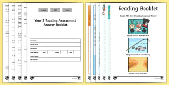 Year 5 Term 2 Reading Assessment Pack - year 5, term 2, reading, assessment, pack