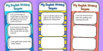 2014 Curriculum UKS2 Years 5 and 6 Writing Assessment Bookmarks