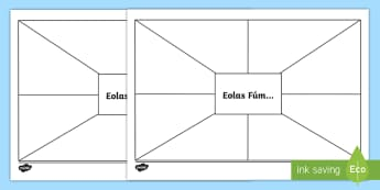 Eolas Fúm Activity Sheet - ROI Back to School Resources, gaeilge, reading, about me, back to school, getting to know you,Irish,