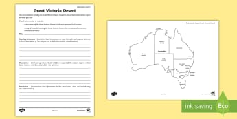 Australian States and Territories – Great Victoria Desert Information Report - Year 3, Year 4, Year 5, Year 6, ACHASSK066, Australian Curriculum, Geography, language, Vocabulary,