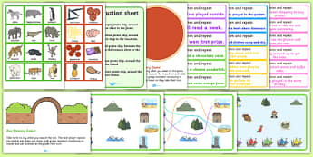Teaching Assistant Auditory Memory Resource Pack - assistant