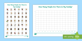 How Many People Are There in My Family? Activity Sheet - Australian History, Australian Families, Family Structure, Australian History, Australian Families,