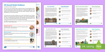 LKS2 60-Second Reads: Magic, Wizards and Witches Activity Pack - Ninety Words Per Minute, Speed Read, Sixty Second Reads, Assessment, Reading, Timed Reading, Compreh