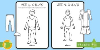 Viste a los chulapos tamaño grande Juego en grupo - San Isidro, Juego, chulapos, vestidos, trajes regionales, fiestas patronales, festividades, primaver